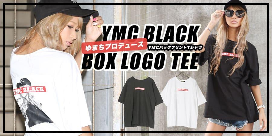 YMCバックプリントTシャツ